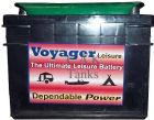 BANNER VOYAGER LEISURE BATTERY 12V 55Ah 20H